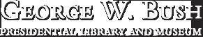 GWBush museum logo